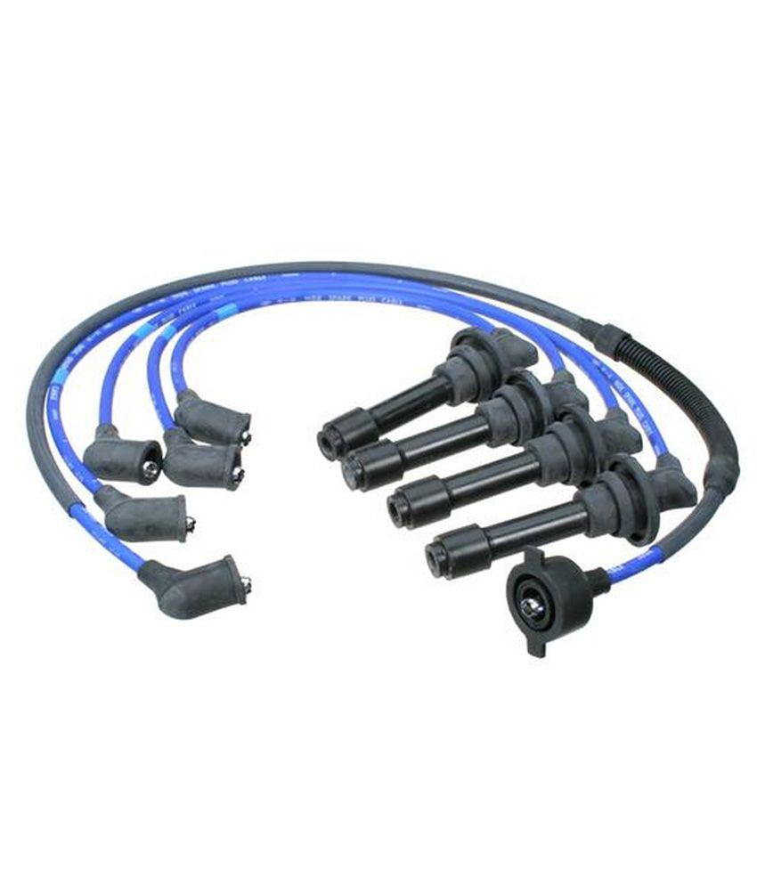 SPARK PLUG WIRE/IGNITION CABLE FOR MARUTI ALTO 1.1 LTR LX/VX/WAGON R LX/VX(SET)