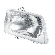 MINDA HEAD LIGHT ASSY LEFT MFR (P43 BULB HOLDER) FOR MARUTI 800 TYPE II