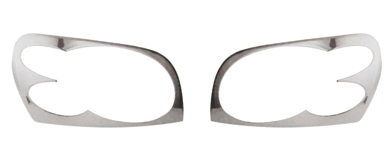 HEAD LAMP MOULDINGS FOR MAHINDRA SCORPIO TYPE IV (SET OF 2PCS)
