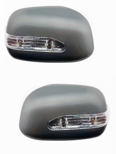 SIDE MIRROR CHROME COVER WITH INDICATOR FOR MARUTI ALTO 800 (SET OF 2 PCS)
