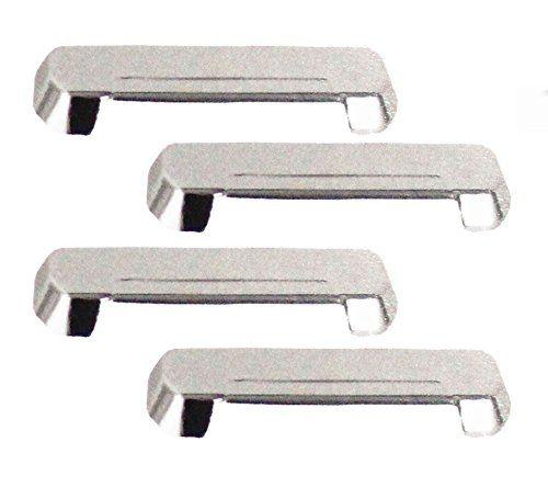 CAR CHROME OUTER HANDLE/CATCH COVERS FOR HYUNDAI i20 (SET OF 4PCS)
