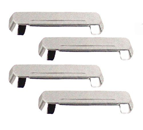 CAR CHROME OUTER HANDLE/CATCH COVERS FOR TATA INDIGO CS (SET OF 4PCS)