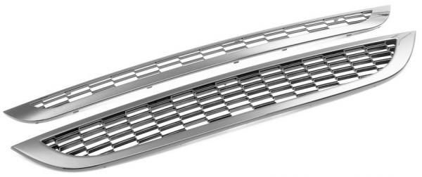 FRONT GRILLS COVERS FOR MAHINDRA SCORPIO TYPE IV (UPPER & LOWER)