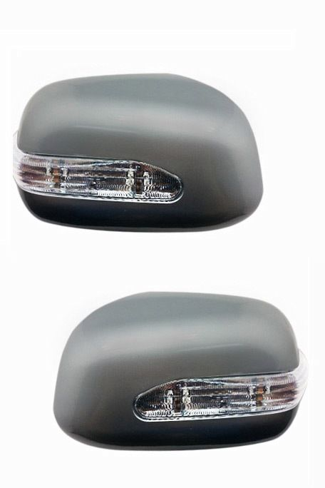 SIDE MIRROR CHROME COVER WITH INDICATOR FOR HONDA CITY ZX (SET OF 2 PCS)