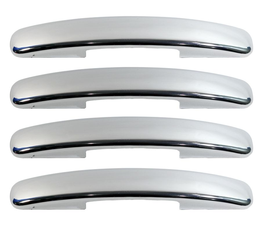 CAR CHROME OUTER HANDLE/CATCH COVERS FOR TATA SAFARI STORME (SET OF 4PCS)