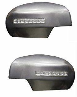 SIDE MIRROR CHROME COVER WITH INDICATOR  FOR TOYOTA INNOVA (SET OF 2 PCS)