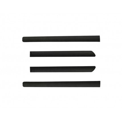 DOOR SIDE BEADING (BLACK) FOR SKODA FABIA (SET OF 2PCS)