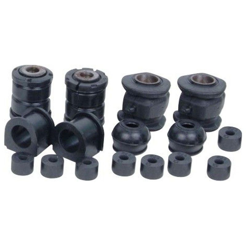 Front Suspension Bush Kit For Mahindra M Hawk ( S Series Engine) (Set Of 12Pcs)