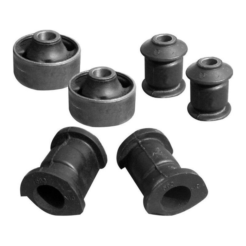 Front Suspension Bushing Kit For Ford Fiesta Without Brackets (Set Of 6Pcs)