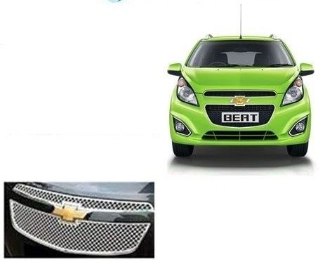 FRONT GRILL COVERS FOR CHEVROLET BEAT (NEW) UPPER + LOWER