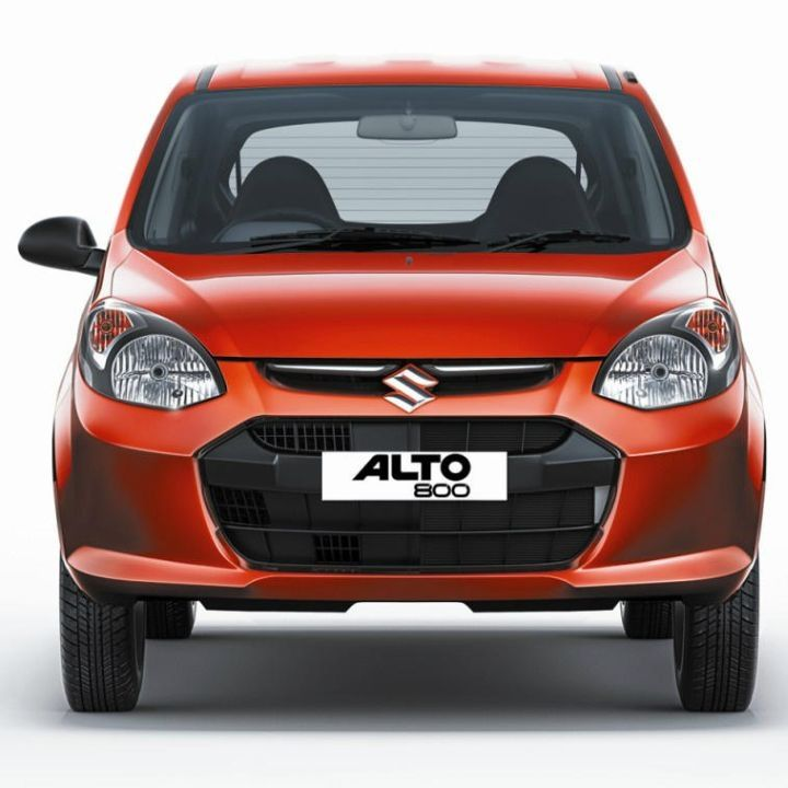 FRONT GRILL COVERS FOR MARUTI ALTO 800 (UPPER + LOWER)