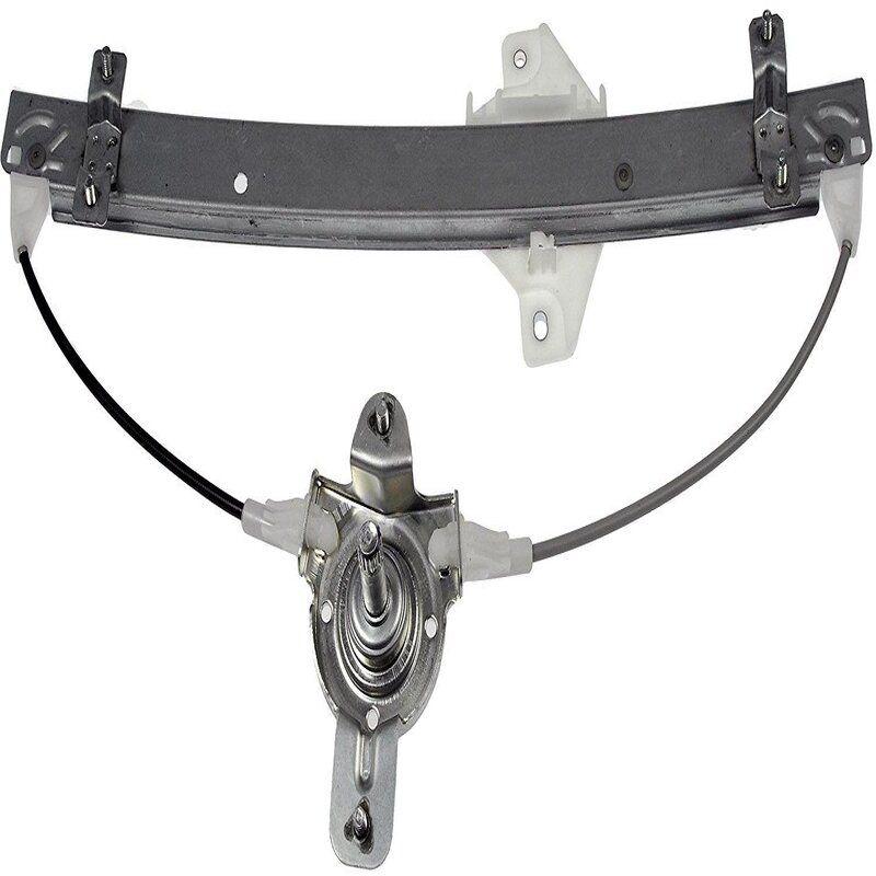 Manual Window Winder Regulator Machine/Lifter For Tata Manza Front Left Metal Slider