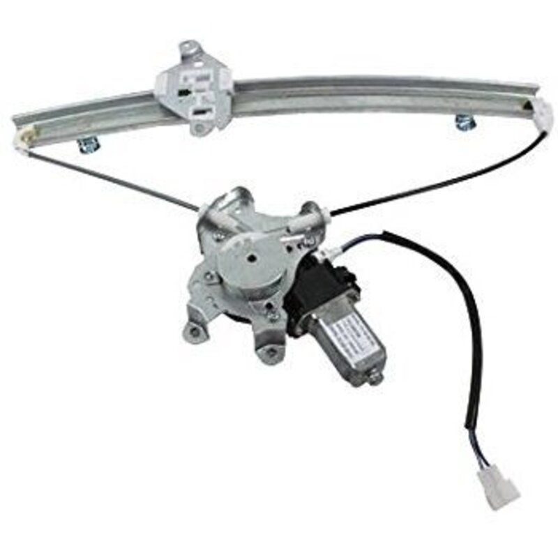 Power Window Winder Regulator Machine/Lifter With Motor For Ford Fiesta Rear Left Plastic Slider