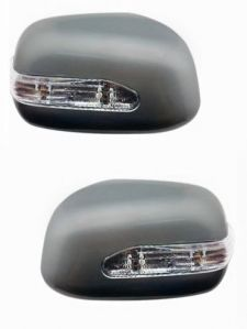 SIDE MIRROR CHROME COVER WITH INDICATOR FOR MARUTI ERTIGA LDI / VDI (SET OF 2 PCS)