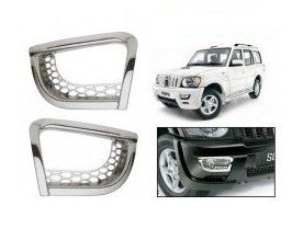 FOG LAMP RIMS FOR MAHINDRA SCORPIO TYPE III (SET OF 2PCS)