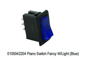 MINDA PIANO SWITCH BLUE COLOUR(UNIVERSAL)