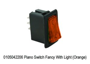 MINDA PIANO SWITCH ORANGE COLOUR(UNIVERSAL)