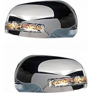 SIDE MIRROR CHROME COVER WITH INDICATOR FOR TOYOTA INNOVA NEW MODEL (SET OF 2 PCS)