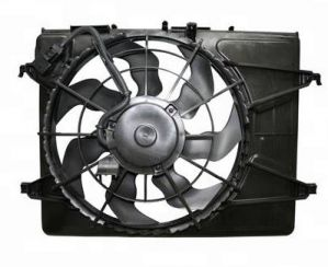 Blower Fan Assembly (Radiator) For Hyundai I10 1.1L Petrol 2010 - 2013 Model