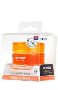 DR.MARCUS SENSO DELUXE CITRUS DREAM GEL PERFUME FOR CAR (50 ml)