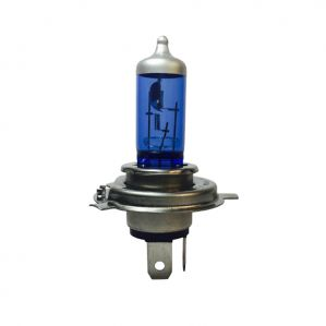 H4 Ultra Blue Halogen Lamp P45T 12V 130/90W (Set Of 2Pcs)