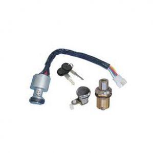 Lock Set With Ignition For Maruti Van 3Pcs Kit