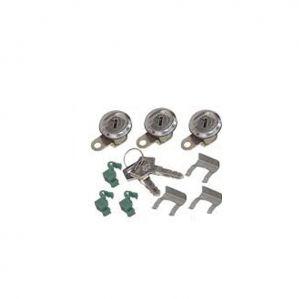 Lock Set With Keys For Mahindra Marshal 3Pcs Kit