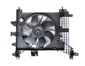 Radiator Cooling Fan / Motor Fan For Nissan Terrano Xe / Xl Plus 1.5L Diesel 110 Hp
