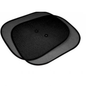 CAR WINDOW SUNSHADE (SET OF 2PCS - BLACK)