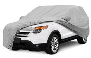 SILVER CAR BODY COVER FOR HONDA CRV