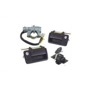 Steering Lock With Ignition For Tata 709 Lpt 4Pcs Kit