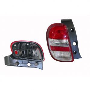 Tail Light Lamp Assembly For Nissan Micra White Left