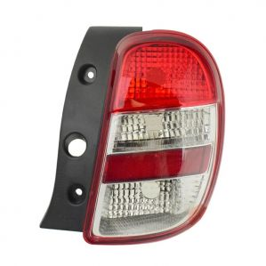 Tail Light Lamp Assembly For Nissan Micra White Right