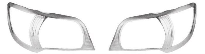 HEAD LAMP MOULDINGS FOR MARUTI ALTO K 10  (SET OF 2PCS)