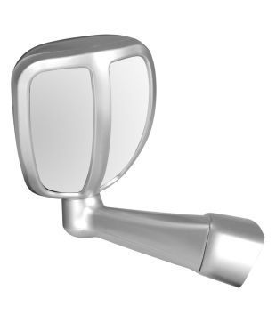 BONNET MIRROR FOR HYUNDAI SANTA FE TYPE II (SILVER)