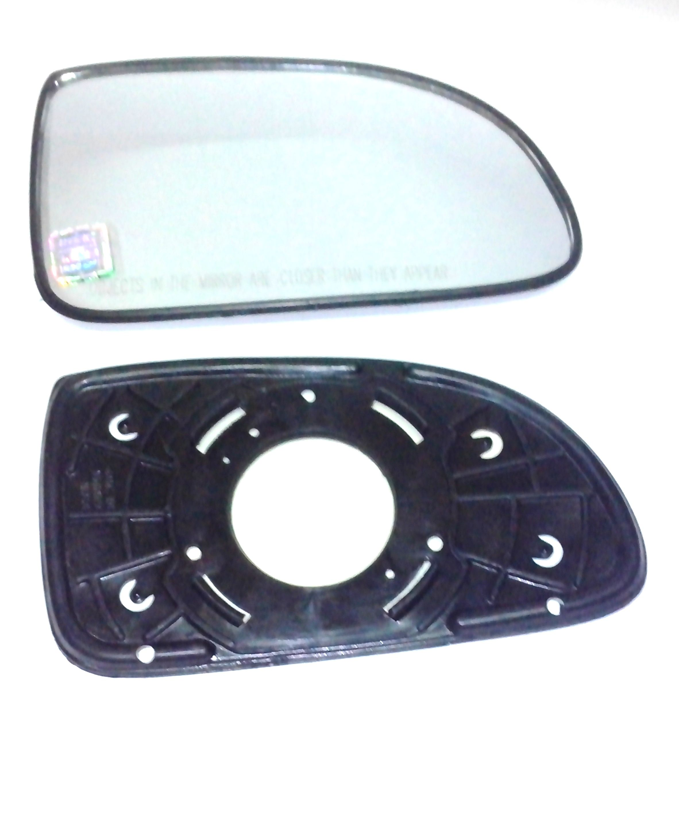 MANTRA-CONVEX MIRROR PLATES (SUB MIRROR PLATES) FOR TOYOTA ETIOS LEFT SIDE