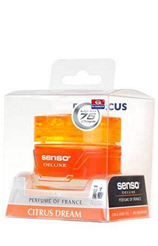 DR.MARCUS SENSO DELUXE CITRUS DREAM GEL PERFUME FOR CAR (50 ml)