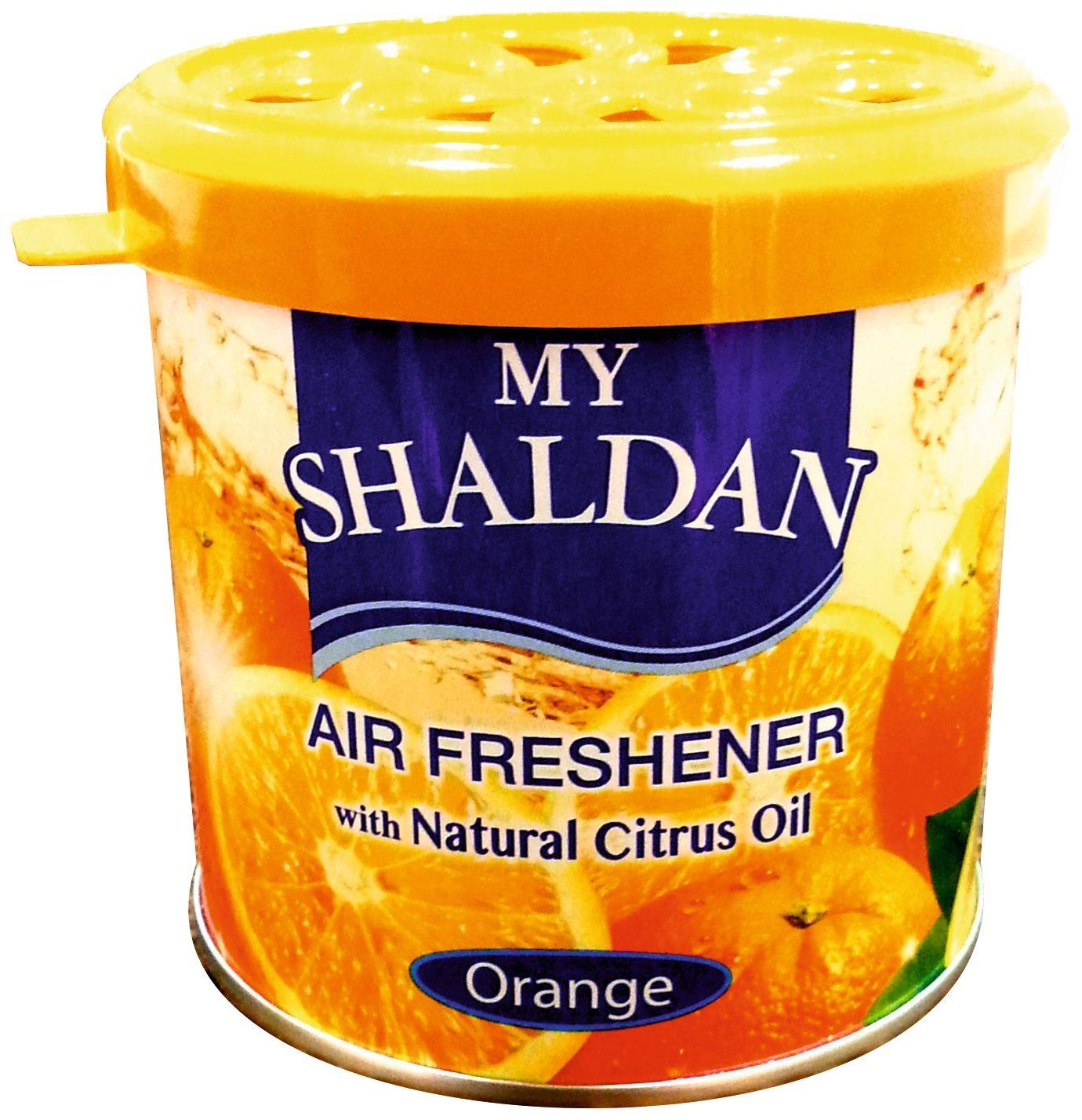 MY SHALDAN ORANGE CAR AIR FRESHNER (80 g)