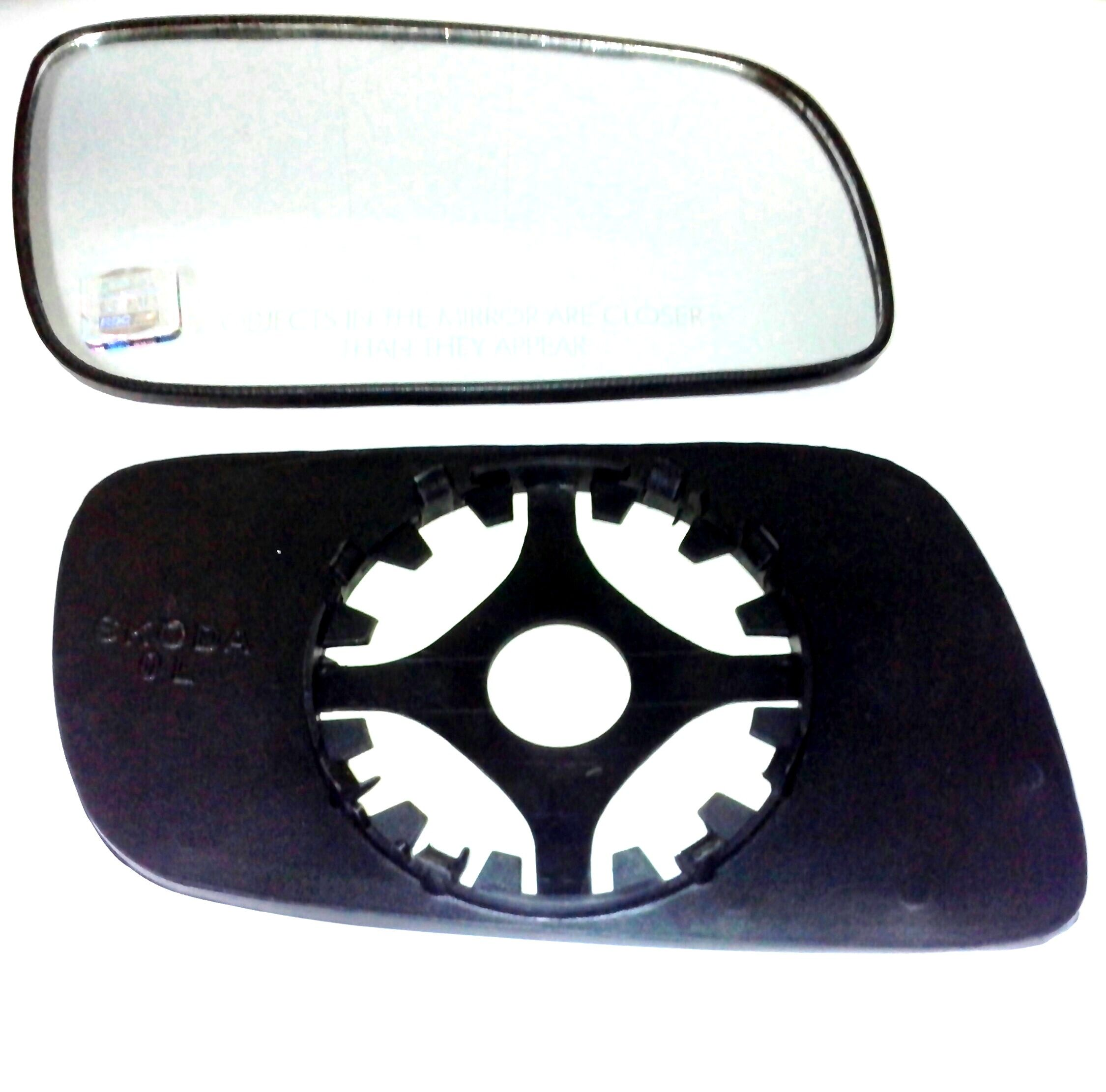 MANTRA-CONVEX MIRROR PLATES (SUB MIRROR PLATES) FOR TATA SAFARI 2X2 T-3 LEFT SIDE