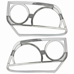 HEAD LAMP MOULDINGS FOR RENAULT DUSTER TYPE I & II (SET OF 2PCS)