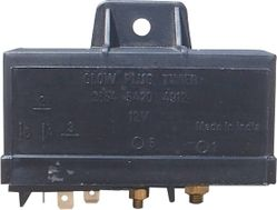 MINDA HEATER(GLOW PLUG) TIMER- BLACK FOR TATA SUMO