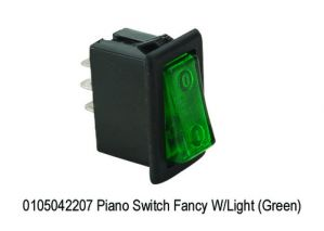 MINDA PIANO SWITCH GREEN COLOUR(UNIVERSAL)