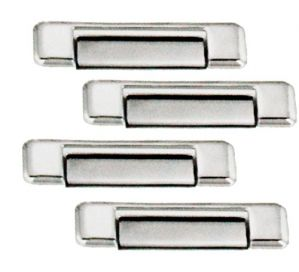 CAR CHROME OUTER HANDLE/CATCH COVERS FOR MAHINDRA SCORPIO TYPE III (SET OF 4PCS)