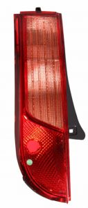 MINDA TAILLIGHT ASSY UPPER WITH WIRING & BULB HOLDER & WITH BLACK BORDER FOR TATA INDICA VISTA(LEFT)