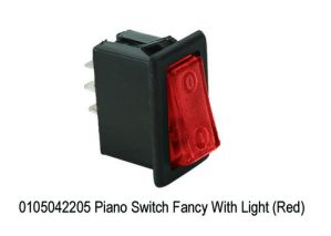 MINDA PIANO SWITCH RED COLOUR(UNIVERSAL)