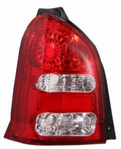 MINDA TAILLIGHT ASSY WITH YELLOW INSERT FOR MARUTI ALTO TYPE II(LEFT)