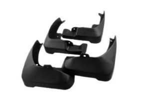 BUY ONLINE FIBRE MUDFLAP FOR RENAULT DUSTER (SET OF 4PCS) CAR PARTS