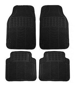 Packy Poda Universal Car Floor Mats BLACK (Set Of 4 Pcs)