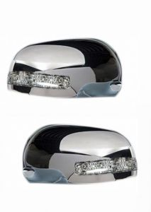 SIDE MIRROR CHROME COVER WITH INDICATOR FOR SWIFT DZIRE TYPE I (SET OF 2 PCS)