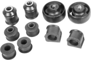 REAR SUSPENSION BUSHING KIT FOR SKODA LAURA (SET OF 16)